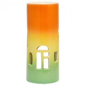 Аромалампа Окна глазурь цветная 13 см