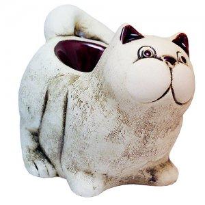 Аромалампа Кот с хвостом 12 см Шликер