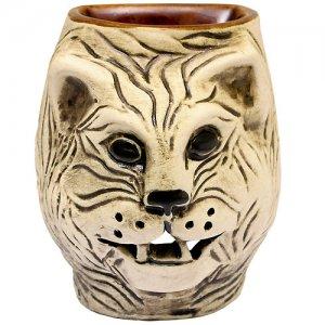 Аромалампа Тигр 10 см шликер