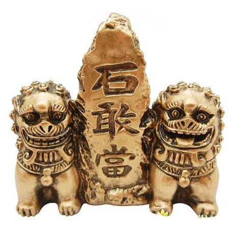 Пара пекинских львов