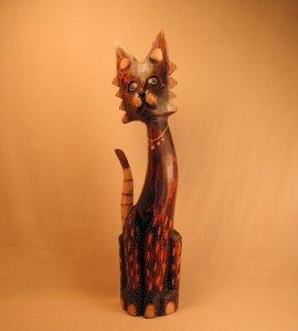 Кошка. Декор `Сетчатый`. 50 см.