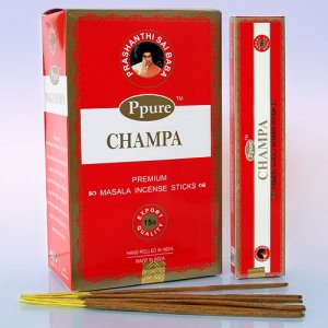 Благовония PPR0007 Ppure Red Champa аромапалочки уп-12 шт 15гр