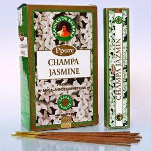 Благовония PPR0004 Ppure Jasmine аромапалочки уп-12 шт 15гр