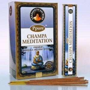 Благовония PPR0002 Ppure Meditation аромапалочки уп-12 шт 15гр