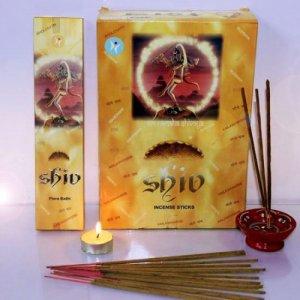 Благовоние SIN138 SHIV Flora bathi Masala 50gm в блоке 12 уп мед жимолость