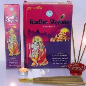Благовоние SIN133 Radhe Shyam Flora Masala 50gm в блоке 12 уп