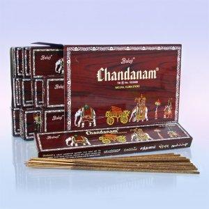 Благовоние BALA0501 Balaji Chandanam 25gm уп-12шт Красный Сандал с медом