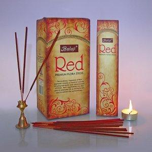 Благовоние BALA0003 Balaji RED Premium Flora в блоке 12 уп Масала