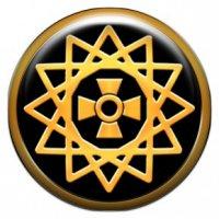 Звезда Эрцгаммы (объемный талисман-наклейка (АртСимвол))