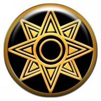 Звезда богини любви Иштар (объемный талисман-наклейка (АртСимвол))
