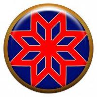 Звезда Алатырь (объемный талисман-наклейка (АртСимвол))
