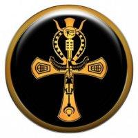 Египетский крест «Анх» (объемный талисман-наклейка (АртСимвол))