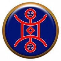 Домовой (объемный талисман-наклейка (АртСимвол))