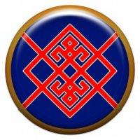 Берегиня (объемный талисман-наклейка (АртСимвол))