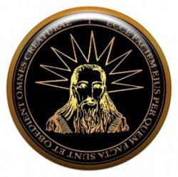 Пентакль для удачи в делах (объемный талисман-наклейка (АртСимвол))