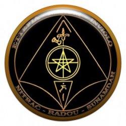 Пентакль для защиты имущества (объемный талисман-наклейка (АртСимвол))