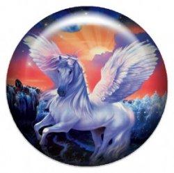Пегас (объемный талисман-наклейка (АртСимвол))