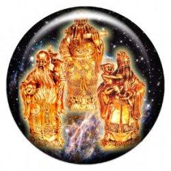 Три звездных старца (объемный талисман-наклейка (АртСимвол))