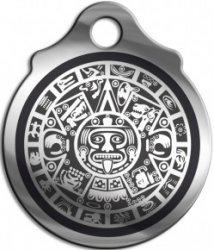 """Амулет """"Ацтекский камень солнца"""", (медсталь)"""