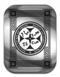 """Магическая карта """"Талисман приносящий счастье"""", 45х35 мм, сталь"""