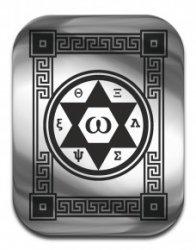 """Магическая карта """"Талисман удачи"""", 45х35 мм, сталь"""