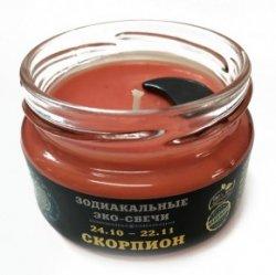 """Эко-свеча """"Скорпион"""", 7х5 см"""