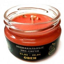"""Эко-свеча """"Овен"""", 7х5 см"""