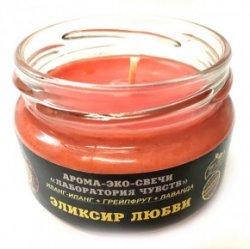 """Эко-свеча """"Эликсир любви"""", 7х5 см"""